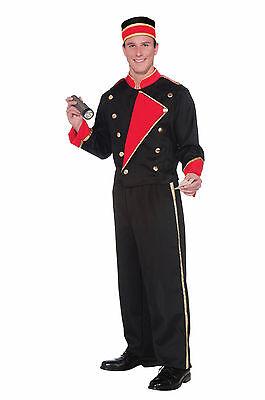 Hollywood Movies Costumes (Adult Vintage Hollywood Movie Usher Costume,)