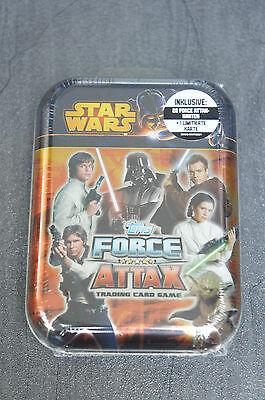 Topps Force Attax Movie Serie 3 Mini Tin Box Sammeldose Neu und OVP Star Wars