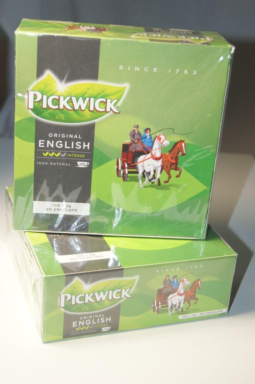 (29,45/kg) Pickwick Original English Tee, 100 x 2g Beutel, schwarzer Tee