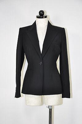 cdb9475b1749 ANNE KLEIN SUIT Black Single Button Office Career Power Fitted Blazer Women  6