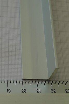 Alu Winkel 20x20x2 ELOXIERT Aluminiumprofil L-Profil Winkelprofil 1000 mm elox