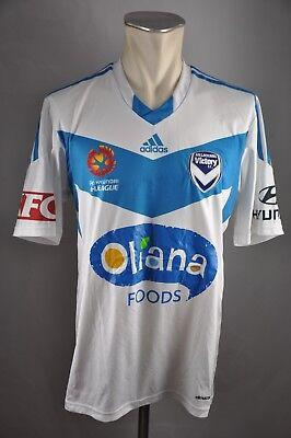 Melbourne Victory FC Trikot A-League Gr. L Australien jersey Adidas 2014-15 image