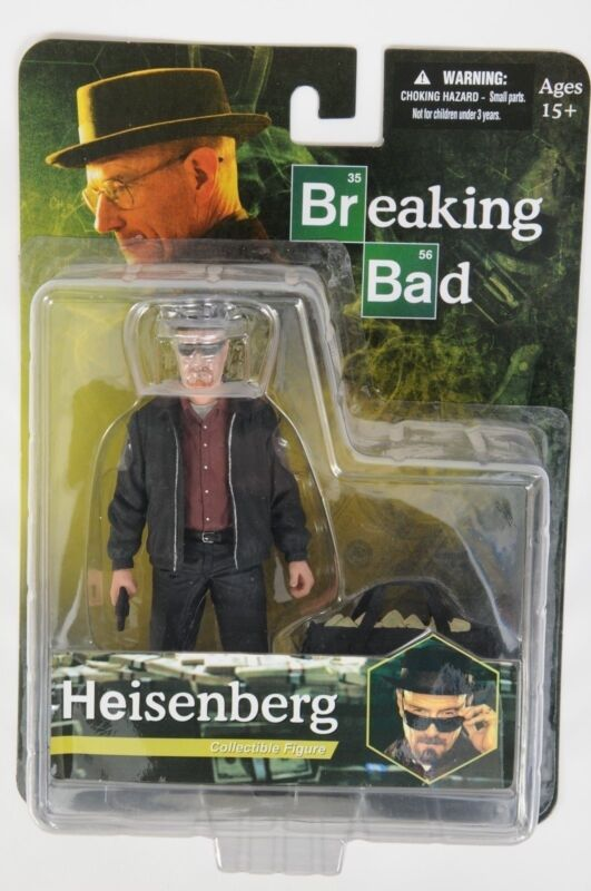 NEW Breaking Bad TV Show Walter White Heisenberg Action Figure Mezco Toy USASHIP