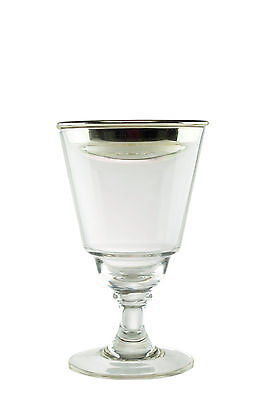 ABSINTHE BROUILLEUR COUPE, SMALL (SILVER-PLATE) & 10 SUGAR CUBES, FREE SHIPPING!