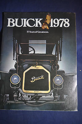 Buick 1978 - 75 Years of Greatness