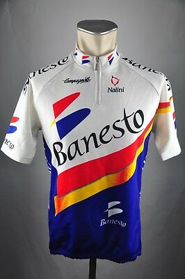 Banesto Nalini Fahrrad Trikot Gr. L BW 54cm Bike cycling jersey Shirt FZ1 cb70679c7