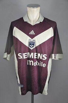 Girondins de Bordeaux Trikot Gr. XL Jersey Siemens 2001-02 Adidas Cup Shirt image