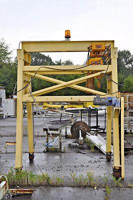 Traveling Gantry Crane With Motorized Trolley 3 Ton Harrington Hoist