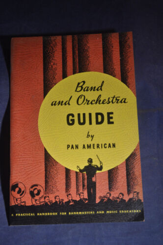 1935 Band and Orchestra Guide by Pan American