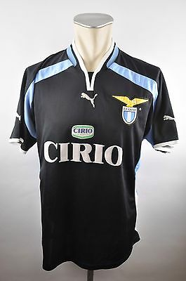 Lazio Rom Trikot Gr. L Puma 2000-2001 maglia S.S Away Cirio Italy jersey image