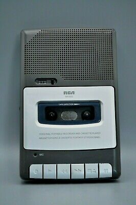 RCA RP3503-A Personal Portable Cassette Tape Recorder Player TESTED