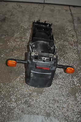 TRIUMPH SPEED FOUR 2006 REAR MUDGUARD  UNDER TRAY FENDER WITH INDICAT
