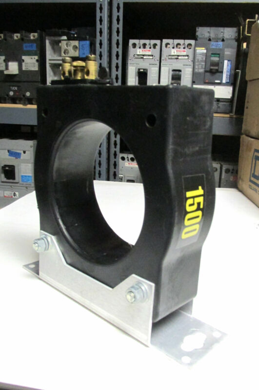 * ABB Current Transformer CLC Type 1500:5  w/ Mounting Bracket ... WJ-004