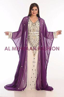 2017 DUBAI KAFTAN ARABIAN FANCY WOMEN DRESS ABAYA DESIGN ISLAMIC WEAR 200