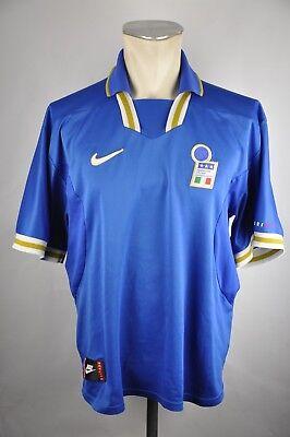 Italien Trikot Gr. XL Nike vintage 1996 Jersey EM WM jersey Shirt Italy 90s 90er gebraucht kaufen  Bornheim