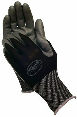 12 Pack Medium Showa Atlas 370 Nitrile Black Garden Work Gloves New Wtag F1