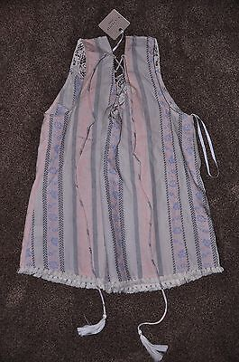 Ladies Boutique Blue Pepper Top - Size Medium - Originally $40.00-REDUCED for sale  Shipping to Canada