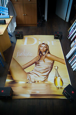 DIOR J'ADORE TIIU KUIK 4x6 ft Bus Shelter Original Fashion Poster 2004