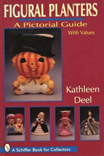Figural Ceramic Planters - Animals Religious Holidays Children.../ Book + Values