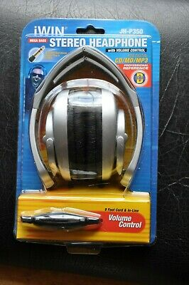 jWIN JH-P350 DIGITAL mega bass Stereo Headphone w/volume control