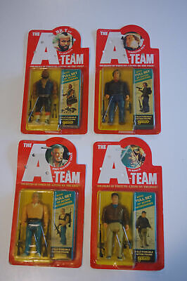 The A Team 1983 Galoob Vintage Action Figures x4