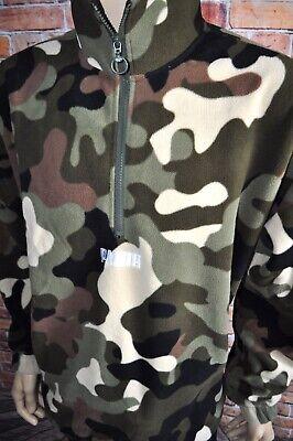 PUMA Wild Pack Polar Camouflage Fleece AOP Top Jacket -