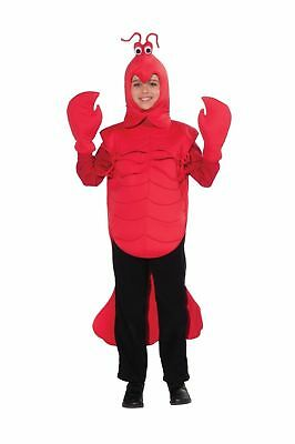 Mardi Gras Big Craw Daddy Child Costume Crayfish Red Mini Lobster One Size 6-10](Lobster Costumes)