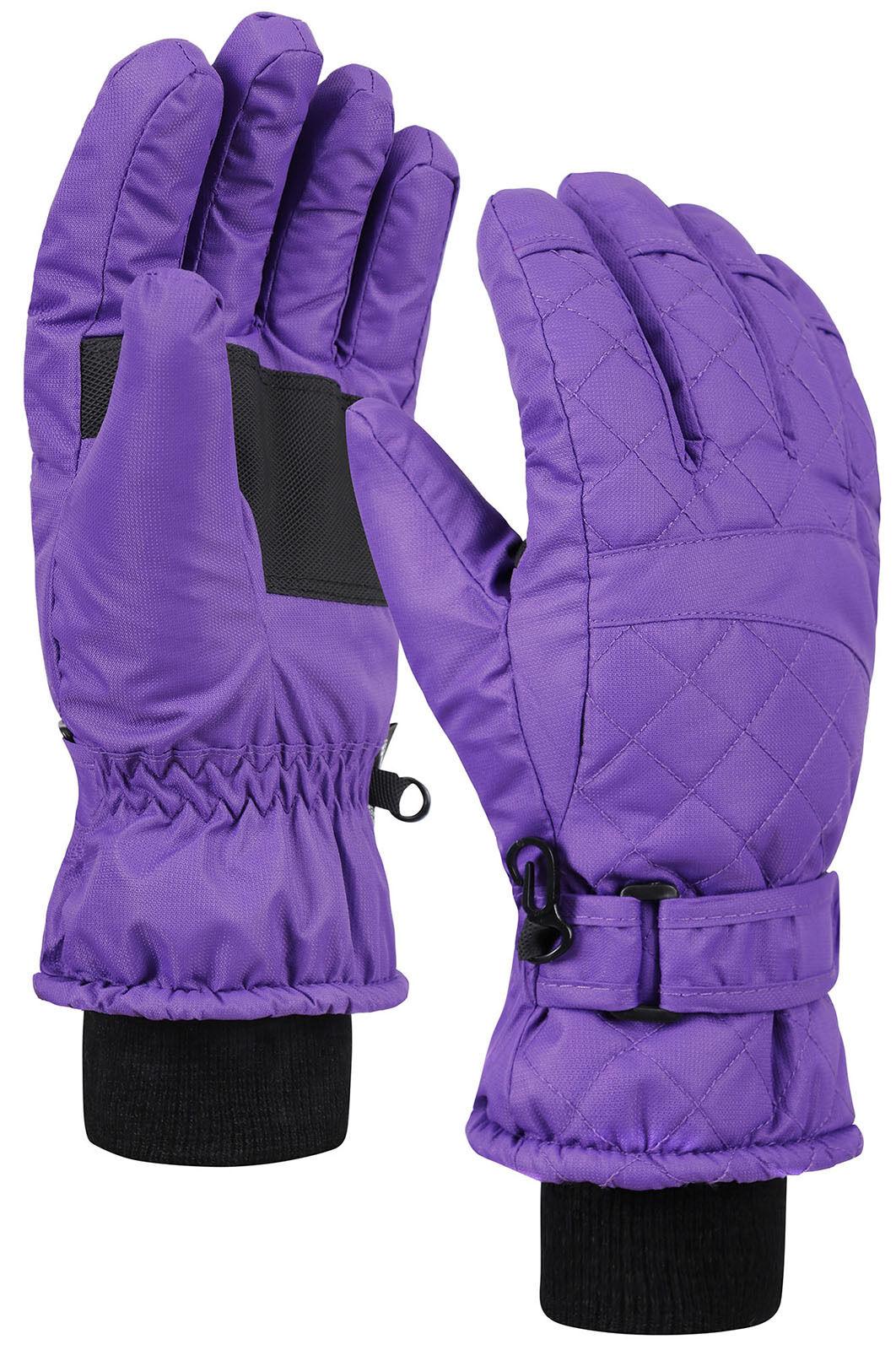 Women's Winter 3M Thinsulate Insulating Quilt Pattern Snow S