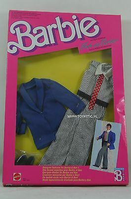 Barbie Ken fashion pret a porter/ pret-a-porter 1912 - 1913 from 1988 NRFB