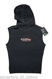 Adventure-At-Nature-Hooded-Wetsuit-Vest-3mm-Neoprene-For-Scuba-Diving-Size-M