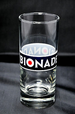 Bionade Limonade, Trinkglas, Glas / Gläser 0,2l