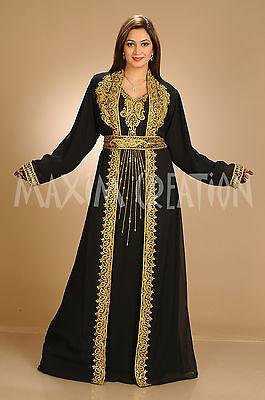 NEW 2017 DUBAI JALABIYA FOR WOMEN FANCY MAGHRIBI DRESS BY MAXIM CREATION 4123