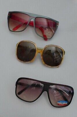 LOT LUNETTES SOLEIL VINTAGE 80s SUNGLASSES EIGHTIES