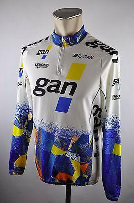 gan Lemond Italy Longsleeve cycling jersey maglia Rad Trikot Gr. M 54cm U1 b9917e598