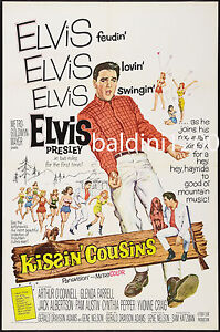 ELVIS-PRESLEY-KISSIN-COUSINS-HIGH-QUALITY-VINTAGE-MOVIE-MUSIC-POSTER