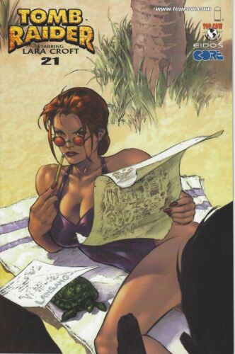 RARE TOMB RAIDER THE SERIES V1 #21 MAY 2002 THE TRAP ALL NEW CREATIVE TEAM * NM
