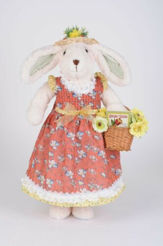 KAREN DIDION EASTER COLLECTIBLES THE FLOWER BASKET BUNNY