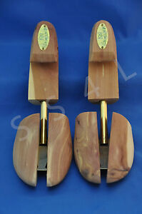 Shoe-Trees-Cedar-Aromatic-Hook-Heel-3-Pairs-NEW