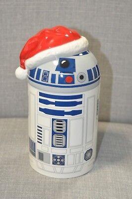 Hallmark Star Wars R2D2 Christmas Caroling Cookie Jar Mint Condition NWOT for sale  USA