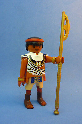 Playmobil J-84 Egyptian Soldier Figure Axe Spear  5388 5389