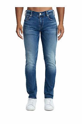 True Religion Herren Rocco No Klappe Jeans Größe 34 X 32 Nwt Bequemer Skinny (Herren True Religion Skinny Jeans)