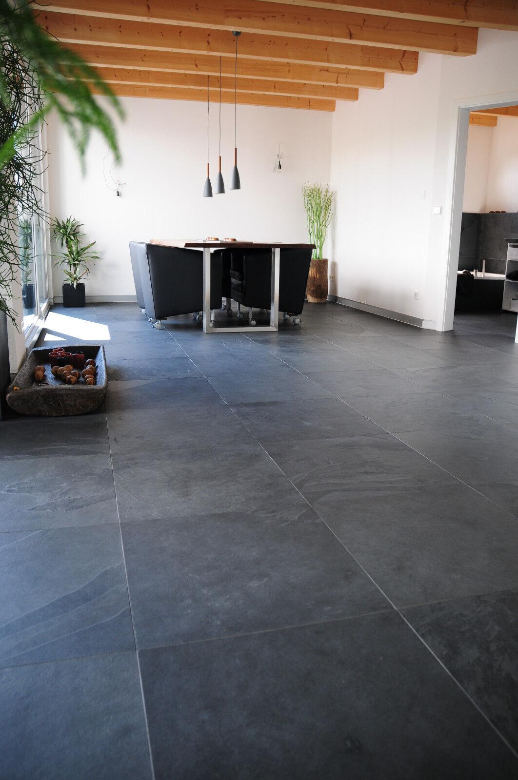 1 qm brasilianischer schiefer 30x60x1cm naturstein anthrazit sehr edel eur 21 00 picclick de. Black Bedroom Furniture Sets. Home Design Ideas