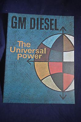 1964 The Universal Power General Motors Diesel