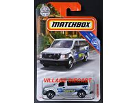 Matchbox 2019 Nissan NV VAN Shuttle Airport NEU /& OVP