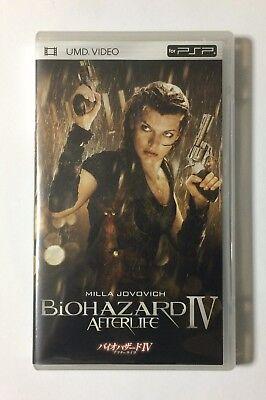 USED PSP UMD Video BIOHAZARD IV Afterlife JAPAN Sony PlayStation Portable import