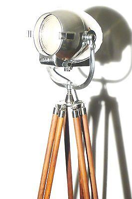 VINTAGE THEATRE LIGHT ART DECO ANTIQUE MOVIE STUDIO LAMP BAUHAUS STRAND 123 23