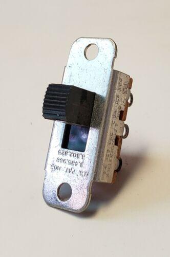 Switchcraft 46203MR SPDT ON-(ON) SLIDE SWITCH