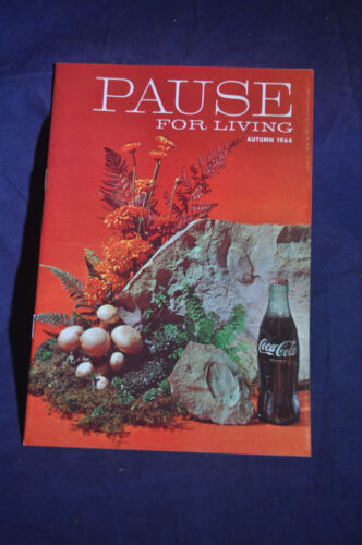Autumn 1964 *MINT* Pause for Living Coca Cola Magazine