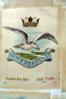 B.d.v. Cigarettes Silk- Hms Seagull Torpedo Gun Boat 735 Tons - godfrey phillips/ bdv - ebay.co.uk