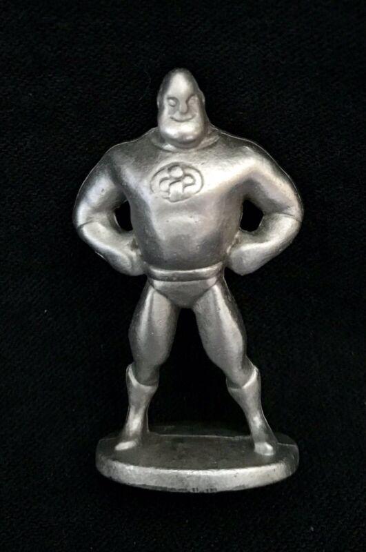 Pewter MR INCREDIBLE The Incredibles Superhero Pixar Metal Figurine Statue O